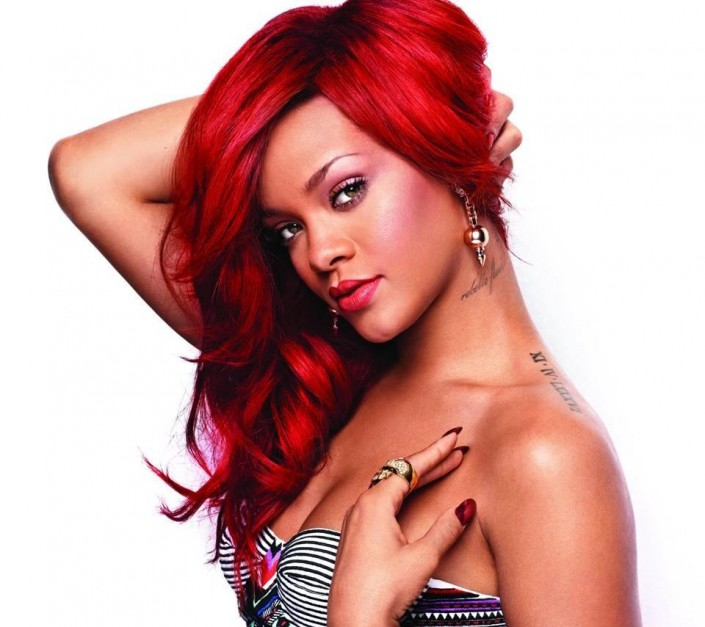 rihanna-red-red-hair